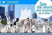 Urban Sketchers-Chicago / Where we live and work