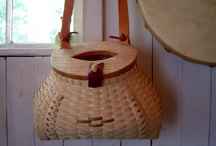 Basket bags and purses