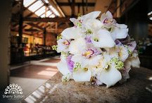 White, Purple and Green Bouquet