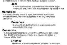 Canning 101: Types of Preserves