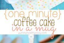 Recipes - mug cakes / mug cakes