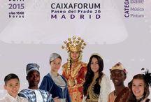 Festival de Culturas / Celebración de la interculturalidad, el respeto y la magia que la expresión cultural supone como desarrollo personal y mundial. Festival de Culturas el 25 de Abril de 2015 en CaixaForum