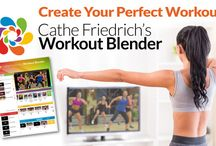 The Workout Blender / The Workout Blender makes it possible to create a premix using any of our Cathe Workouts. You can select exercise segments from as many videos as you like and create your own workout masterpiece.