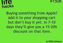 useful hacks