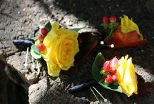 Accesorii din flori  #Cocarde #corsage #coronite #accesorii #florale