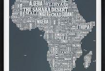 mapa tipografia