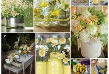 A dreamy wedding day / A dreamy wedding inspiration