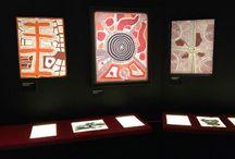 Musée - Exposition d'art Aborigène / Art Aborigène d'Australie. Aboriginal art. Peinture d'art Aborigène. Expositions d'art Aborigène.