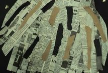 News paper crafts
