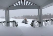 Winter Wonderland / Wondering why people travel to Maine in the Winter?