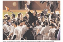 Everything SF Giants (and Niners)! / by Kimberly McClain