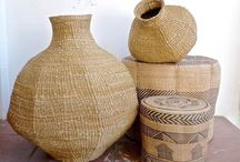 Baskets / Baskets that feel and often are handmade in Africa