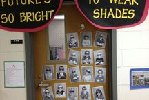 Door, Boards and classroom Decor ideas