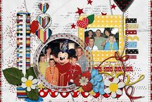Disney Love - Scrapbook Layouts