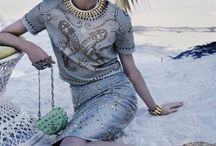 Editorial Chic on the beach