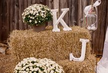 Country wedding decor / Country wedding decor ideas