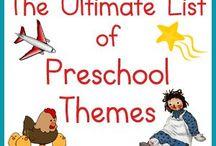 Themes pre school