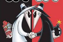 Spy vs Spy / Those always-battling little spy-guys from MAD Magazine.