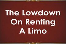 The Lowdown On Renting A Limo