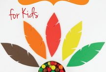 Thanksgiving / Recipes, crafts and activities for Thanksgiving Theme.