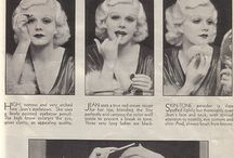 1933 make-up and hair