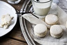 VANILLA / Macaron with smooth natural vanilla mousseline. (photo:Dionisis Andrianopoulos, Styling: Anestis Michalis, Photographer assistant: Konstantina Statha)