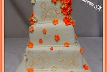 Wedding Cakes / These are Wedding Cakes that I have created (2014 only).