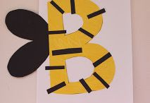 Letter b / Bumble bee