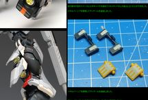 Gunpla Custom Detailing Ideas, Tutorials & Example / Gunpla Tutorials and Examples. Gunpla Technique. Gunpla Custom Paint, Gunpla Custom Build. Modification methods. Detailed Parts View of Gundam.