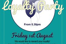 Loyalty Club / We like to reward your loyalty here at 35 Degrees South and Alongside - visit our website to sign up or ask a member of staff the next time your in!