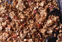 .granola. / Recipes for preparing the perfect breakfast or snack time granola.