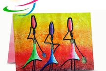 Free Art Printed Greetings Cards / Download and print free greetings cards.  Cartes gratuites à télécharger et imprimer.