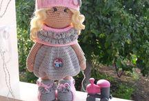 Háčkovaná panenka