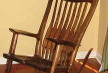 Maloof Style Sculpted Rocker / The style of rocker that made Sam Maloof famous. / by David Altshuler