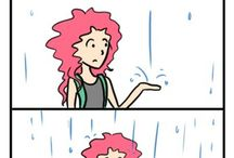 Curly hair probs / by Shara Bear