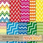 Rainbow Party (craft, clip art, digital papers) / Rainbow Party (craft, clip art, digital papers)