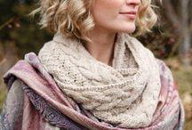 Шапки, береты, шарфы. / Вязание шапок и шарфов