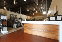 Our Showroom / This is the Paradigm Interiors showroom space at our Denver, Colorado location. Please come by and visit!