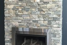 Internal/external stone cladding