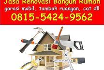 0815.5424.9562 Biaya renovasi rumah surabaya