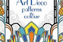 Art Deco 1925-1940 / Art Deco, a term first coined in Paris in 1925, is a hard style to define. art deco visual motifs  include  — bold curves, strong vertical lines, aerodynamic forms, motion lines, sunbursts galore  geometric shapes, egyptian, zigzags, lightning bolts, airbrushed ray bands, motion lines, aerodynamic and streamlined forms