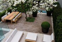 stylish patio