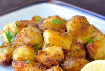 Vegetables / Lemon roast potatoes