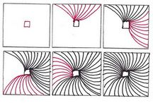 Zentangle-patronen