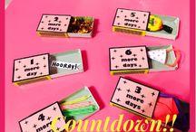 Diy birthday countdown