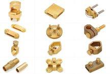 BRASS EARTHING PARTS / Manufacturer of brass auto parts, brass earthing components, brass lpg parts, brass sanitary parts, brass building hardware, brass fasteners, brass automobile parts, brass turned parts,brass electrical parts.  Brass Transformer Parts, LPG Gas Fittings, Brass Neutral Links, Brass Socket Pins, Flare Fittings, Brass Forged Fittings, Hose Bars Fitting, Brass Compression Parts, Brass Earthing Parts, Fastener Fixtures, Brass Inserts, Brass Anchors, Pneumatic Parts, Brass Nut & Washers
