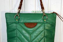 my leather bags / Мои сумки. Мое творчество.