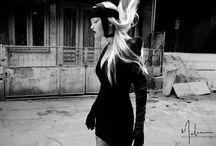 photoshoot lookbook noir