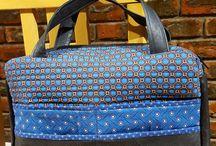 Shweshwe bags / Handmade handbags made with shweshwe