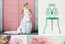 {Wedding} Pink & Turquoise Color Combo